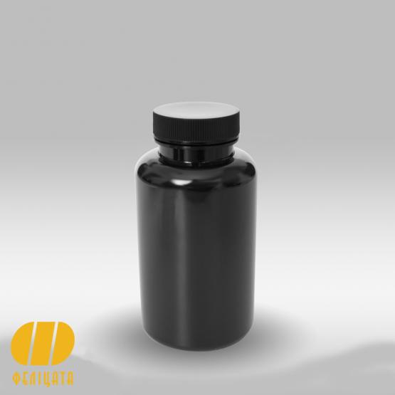 ПЭТ бутылка черная 250 мл