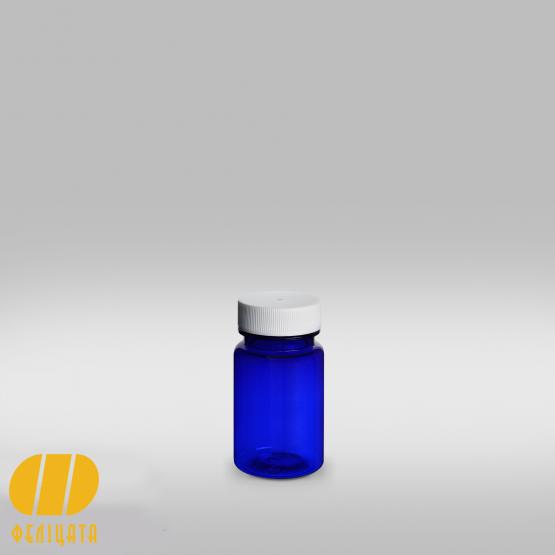 ПЭТ бутылка синяя 75 мл